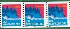 US Stamp #3775 MNH – Sea Coast Coil Strip of 3
