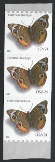 US Stamp #4002 MNH – Common Buckeye Butterfly – PS3 #V1111 Coil