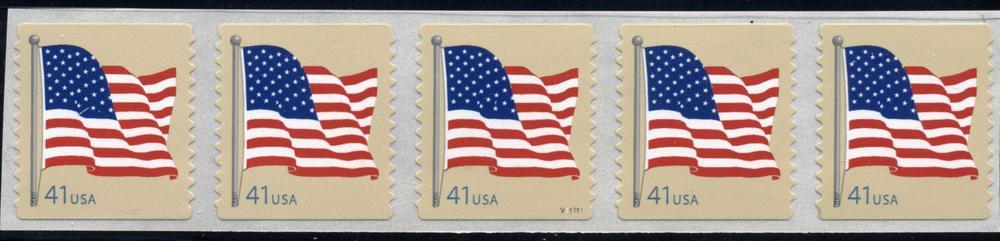 US Stamp #4189 MNH – US Flag – PS5 #V11111 Coil