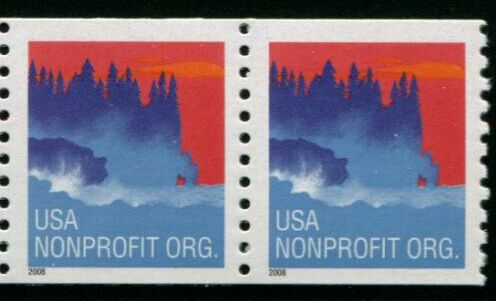 US Stamp #4348 MNH – Seacoast – Coil Pair