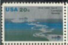 US Stamp #2091 MNH St, Lawrence Seaway ZIP Block / 4