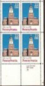 US Stamp #2337 MNH Ratification by Pennsylvania ZIP Block /4