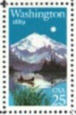 US Stamp #2404 MNH – Washington Statehood – ZIP Block of 4