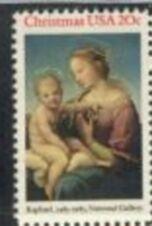US Stamp #2063 MNH Christmas Madonna Single