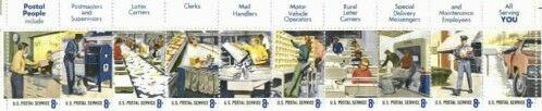 US Stamp #1489-1498 MNH Postal People Strip of 10