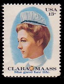 US Stamp #1699 MNH Clara Maass Single