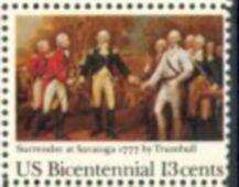 US Stamp #1728 MNH Surrender of Burgoyne Single