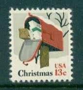 US Stamp #1730 MNH Christmas Mailbox Single