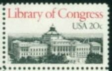 US Stamp #2004 MNH Library of Congress Single