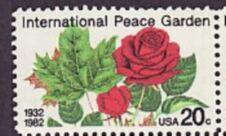 US Stamp #2014 MNH Peace Garden Single