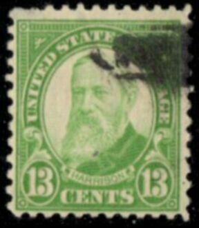 US Stamp # 694 – Benjamin Harrison – 1931 Regular Issue
