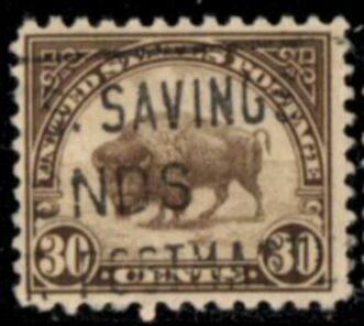 US Stamp # 700 – American Buffalo – 1931 Regular Issue