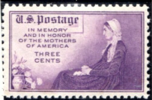 US Stamp # 738 MLH – Mothers of America Issue