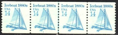 US Stamp #2134 MNH – Iceboat Coil PS4 #1