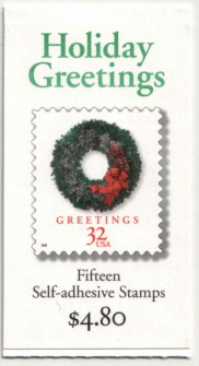 US Stamp #BK270 MNH – Holiday Greetings Booklet