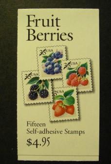 US Stamp #BK276A MNH – Fruit Berries Booklet