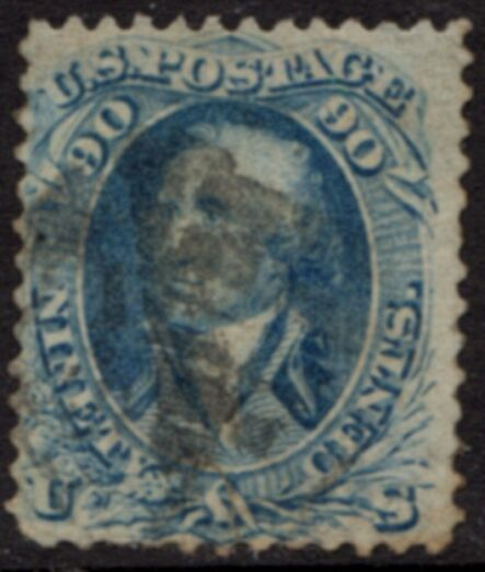 US Stamp #  72 – George Washington – National Bank Note Issue