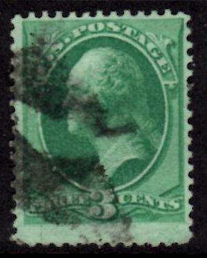 US Stamp # 147 – George Washington – National Bank Note Issue