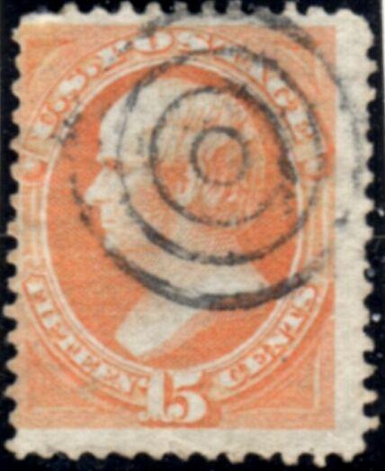 US Stamp # 152 – Daniel Webster – National Bank Note Issue
