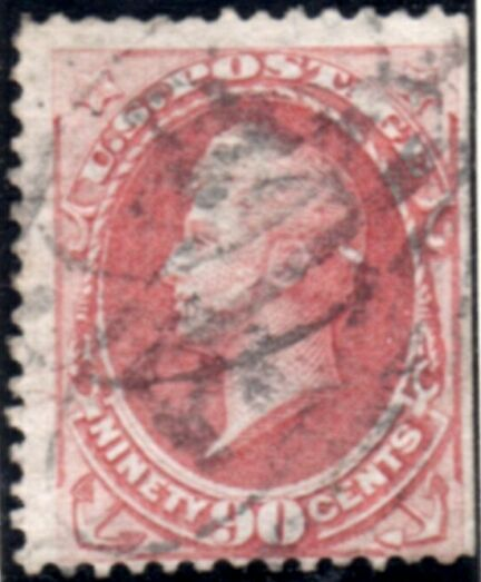 US Stamp # 155 Oliver Hazzard Perry -National Bank Note Issue
