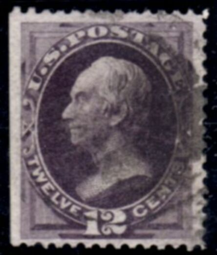 US Stamp # 162 – Henry Clay – Continental Bank Note Issue