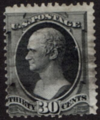 US Stamp # 165 – Alexander Hamilton – Continental Bank Note Issue