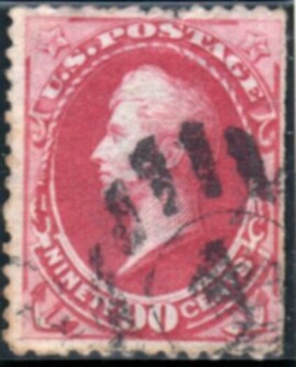 US Stamp # 166 – Oliver H. Perry – Continental Bank Note Issue