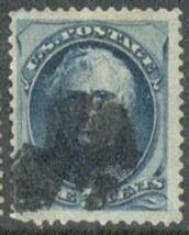 US Stamp # 179 – Zachary Taylor – Continental Bank Note Issue