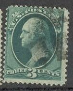 US Stamp # 184 – George Washington – American Bank Note Issue