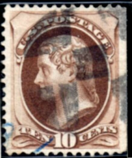 US Stamp # 188 – Thomas Jefferson American Bank Note Issue
