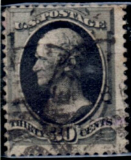 US Stamp # 190 Oliver Hazzard Perry American Bank Note Issue