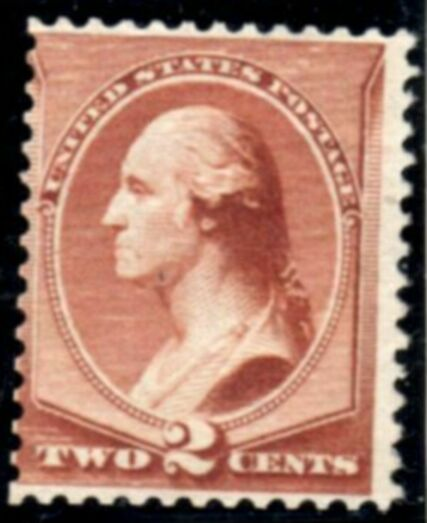 US Stamp # 210 MNG – George Washington – American Bank Note Issue