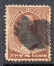 US Stamp # 210 – George Washington – American Bank Note Issue