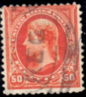 US Stamp # 260 – Thomas Jefferson – 1894 Regular Issue