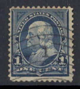 US Stamp # 264 – Benjamin Franklin – 1895 Regular Issue