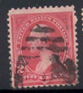 US Stamp # 265 – George Washington – 1895 Regular Issue