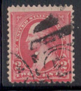 US Stamp # 266 – George Washington – 1895 Regular Issue