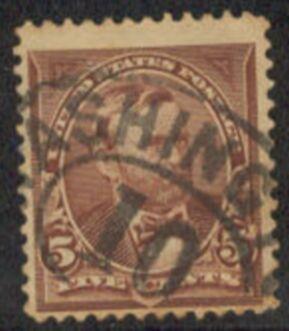 US Stamp # 270 – Ulysses S. Grant – 1895 Regular Issue