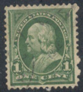 US Stamp # 279 – Benjamin Franklin – 1897-1903 Regular Issue