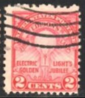 US Stamp # 654 – Edison's Light Bulb