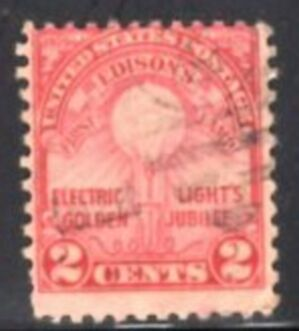 US Stamp # 655 – Edison's Light Bulb