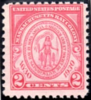 US Stamp # 682 MNH – Massachusetts Bay Colony Issue