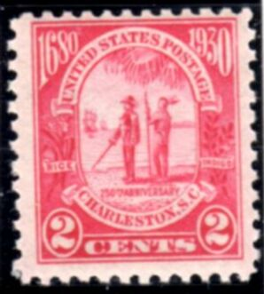 US Stamp # 683 MNH – Carolina-Charleston Issue