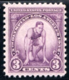 US Stamp # 718 MNH – Olympic Issue – Runner at Starting Mark