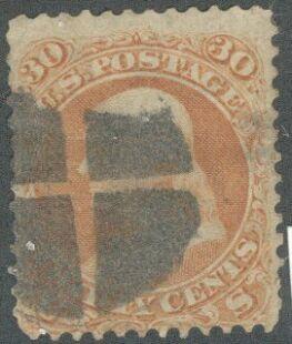 US Stamp #   71 – Benjamin Franklin – National Bank Note Issue