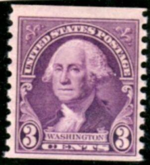 US Stamp # 721 MNH – George Washington – 1932 Regular Issue Coil