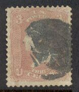 US Stamp #   65 – George Washington – National Bank Note Issue
