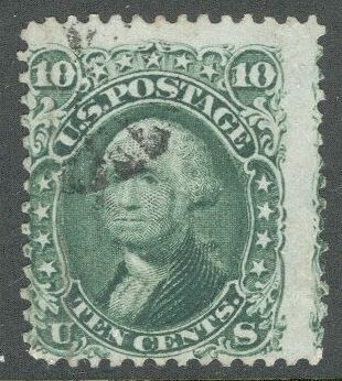 US Stamp #   68 – George Washington – National Bank Note Issue