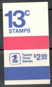 US Stamp #BK128 MNH Unexploded Booklet w/1 #1595b,2 #1595c Panes