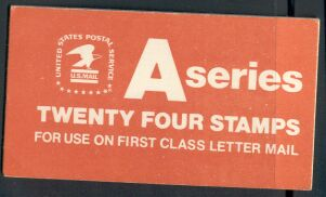 US Stamp #BK133 MNH Unexploded Booklet w/3 #1736a Panes